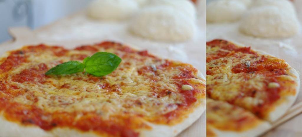 kaesepizza