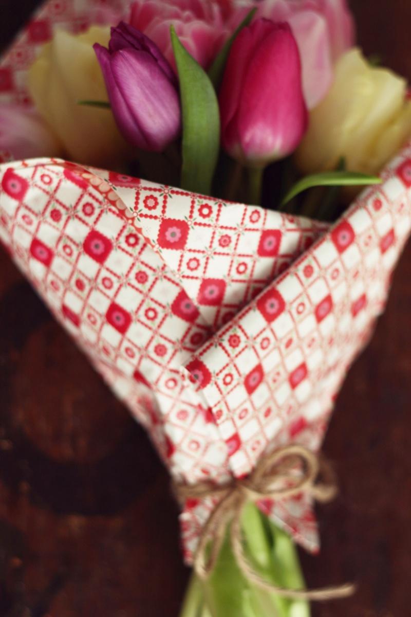 Blumen für Freundin