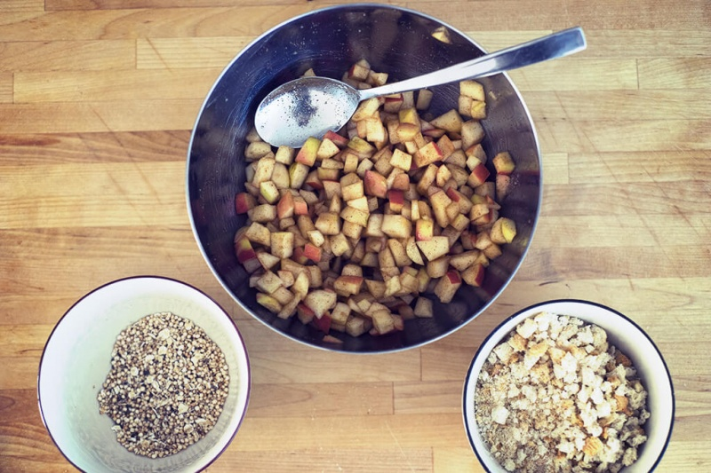 Apfelstrudel Rezept vegan, laktosefrei oder ohne ei